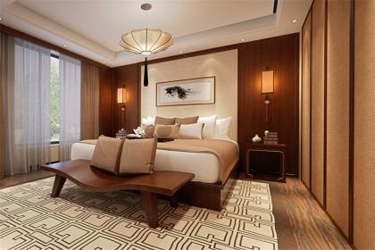 2018中式卧室装修效果图,尽显传统文化气韵图片