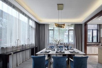 家庭餐厅装修案例图,这5款餐厅案例简直美爆了!