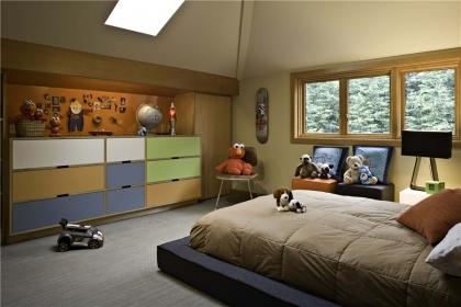 儿童房u乐娱乐平台设计要点,如何打造安全舒适的儿童房