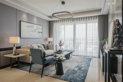 118平米四室两厅设计,用新中式装点的居室