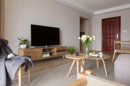 两室两厅日式风格装修,温馨自然的居家空间人人都喜欢