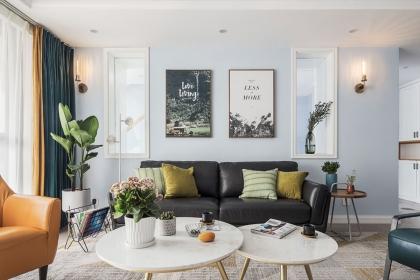 160平北欧装修案例,打造四室两厅舒适家居