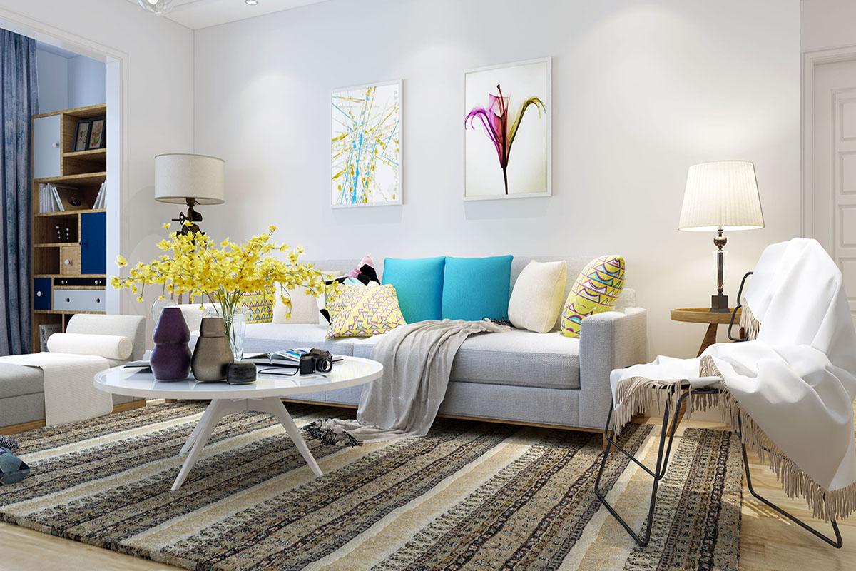 家装配色技巧知识说明,好配色让你拥有舒适生活