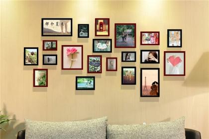 照片墙怎么布置好看?照片墙布置技巧