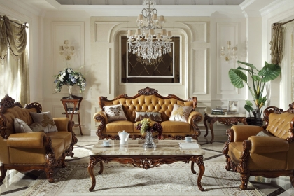 皮质沙发搭配风格推荐,让家居装修更时尚