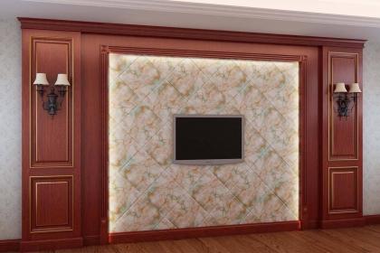 电视背景墙的护墙板怎么贴?护墙板安装的这些步骤你都知道吗?