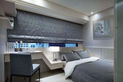小户型卧室装修设计效果图,小房间也可以这么整洁温馨
