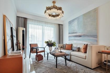 鄭州98平米簡約風格樣板房,邀您欣賞舒適安靜的三口之家
