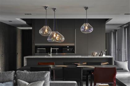 2018厨房中岛装修效果图,这样的设计让人赏心悦目