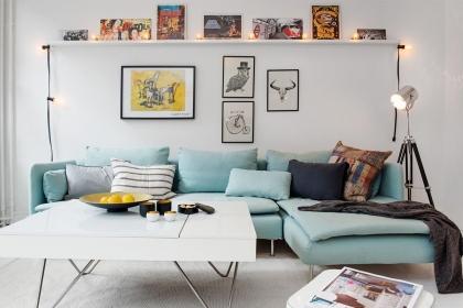 客廳沙發背景墻裝修,滿滿的設計感讓家更顯格調