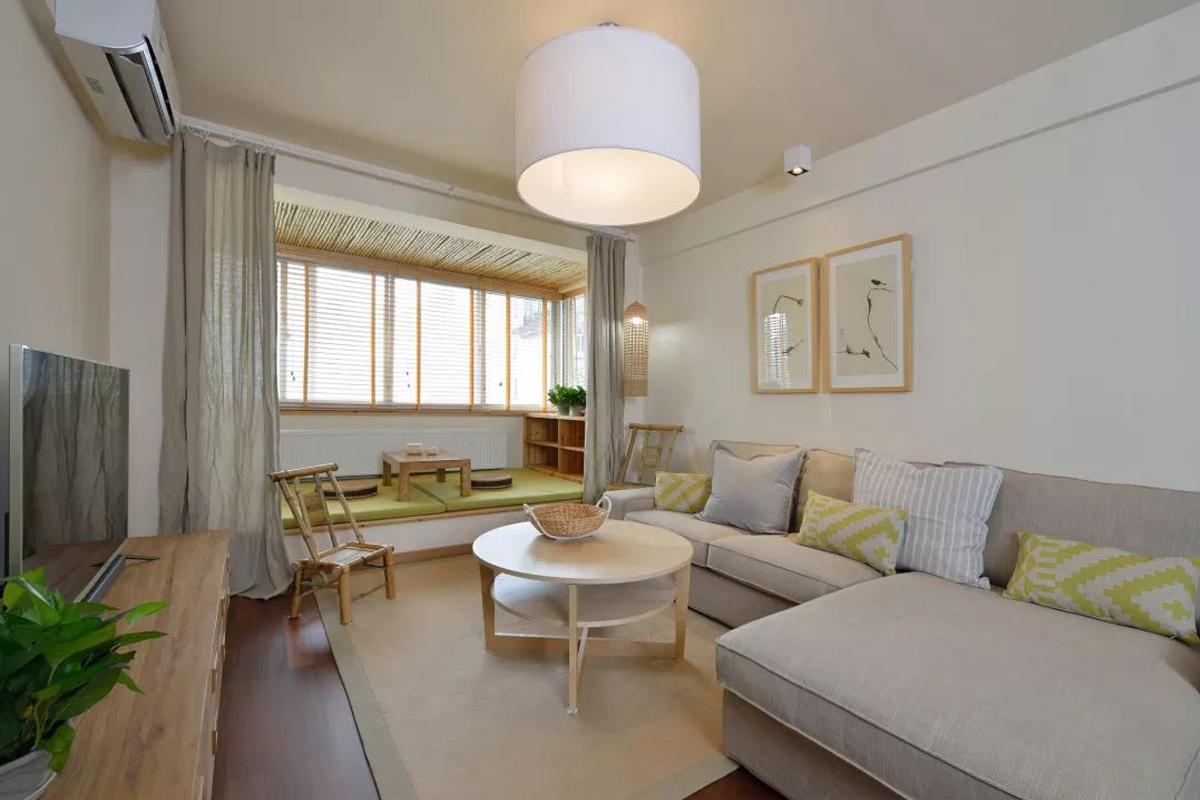 商品房日式装修效果图,将自然的清新简约纳入家中
