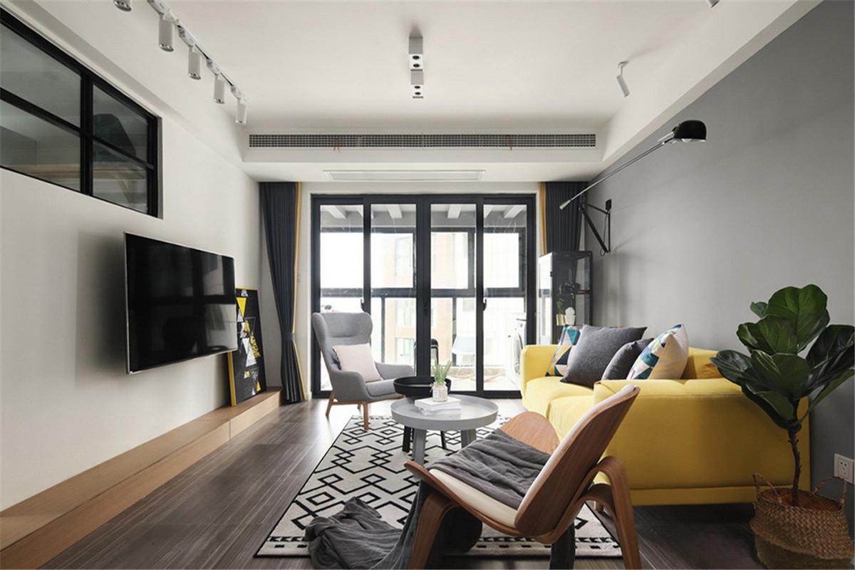 深灰色地板装修效果图案例,受人欢迎的木地板装饰案例欣赏