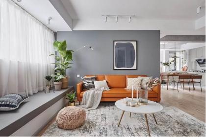 北欧U乐国际设计优乐娱乐官网欢迎您,客厅的设计简直太赞了
