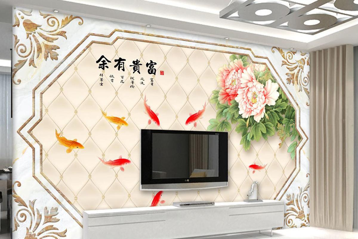 装饰客厅电视背景墙的风水画有哪些?客厅电视背景墙风水画禁忌