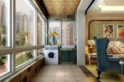 客厅阳台装修效果图,6种不同的设计满足多样化的需求