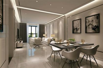 现代简约风格装修案例图,用简单元素打造时尚空间