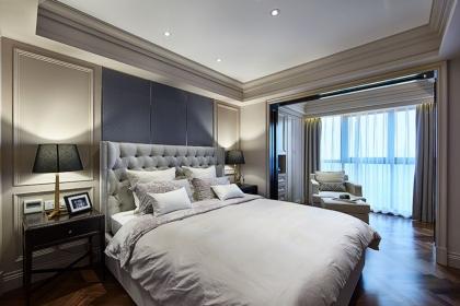 美式风格卧室装修效果图,2018最新美式卧室设计案例