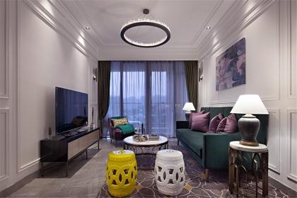 现代简约风格装修案例,让你找到家的温馨舒适感