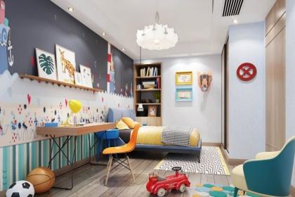 儿童房软装搭配注意事项,这5个注意事项你知道吗?