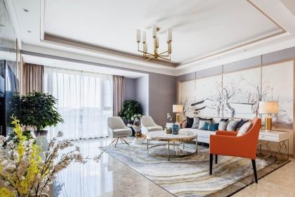 武汉152平港式装修案例图,打造舒适轻奢的家居生活