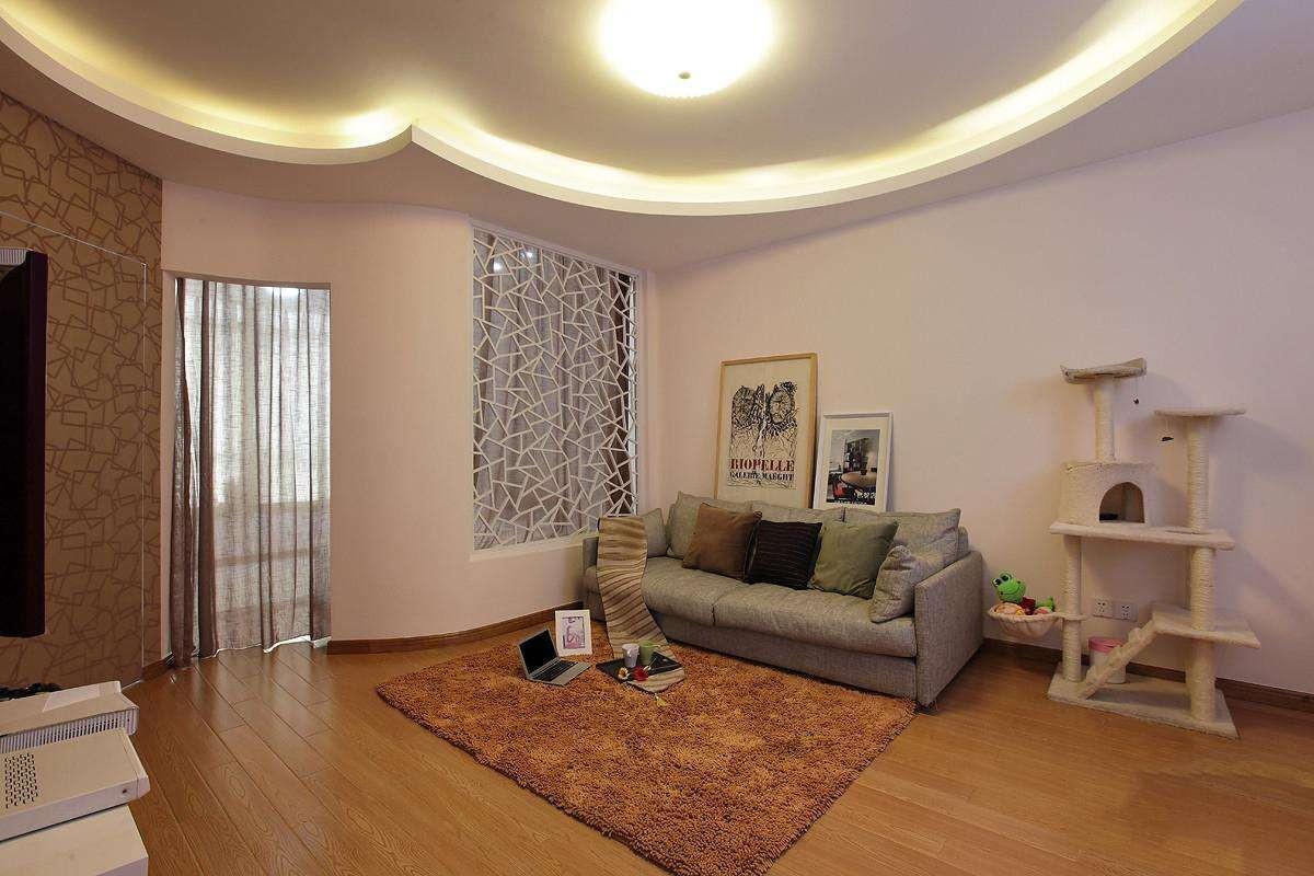 客厅有横梁怎么装修,客厅有横梁这么装修就对了