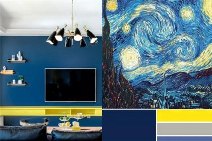家装色彩搭配案例,跟着设计师学家装色彩搭配