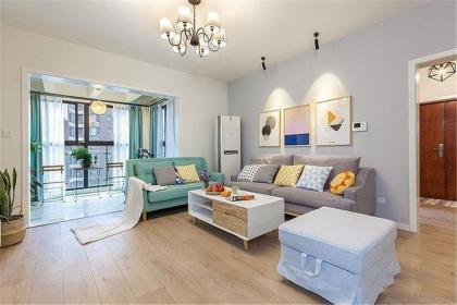 简约风格三居室装修案例 ,打造贴近自然的舒适空间