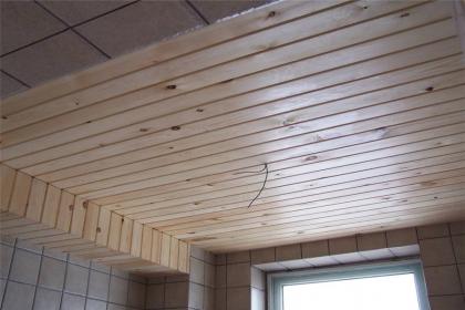 桑拿板吊顶施工工艺,桑拿板吊顶施工注意事项