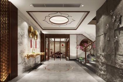 中式风格别墅装修要点,中式别墅装修设计技巧