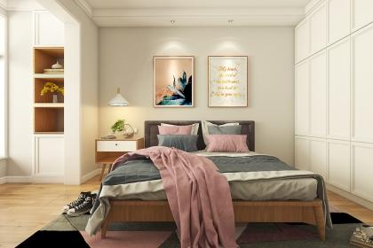 小户型卧室颜色搭配技巧,看看这里你就明白了