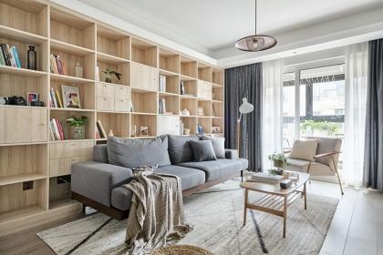 90平日式风格案例,让你享受简洁舒适的家居氛围