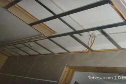 常用吊顶材料有哪些?吊顶施工工艺介绍