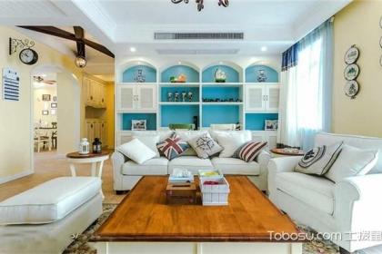 120平米地中海風格三居婚房裝修,幸福的地中海婚房