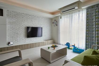 五款北欧风格客厅装修效果图