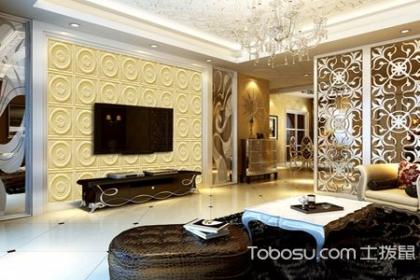 砂巖電視背景墻,一種多功能的裝飾石材