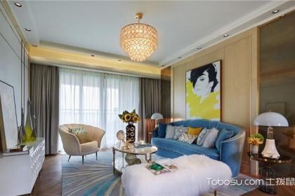 新古典風格客廳設計說明,新古典客廳如何設計