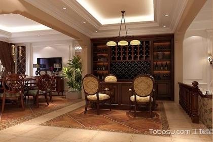 家庭装修酒柜吧台设计 家庭酒柜设计