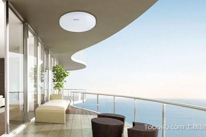 阳台吸顶灯图片欣赏,你家也装上吸顶灯了吗?