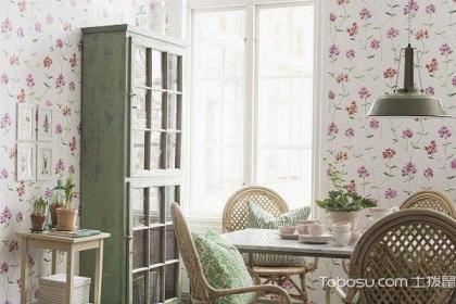 大户型家装餐厅墙纸怎么装修,餐厅装修案例