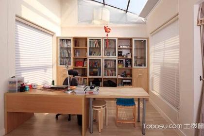 怎么装修设计书房?书房装修设计原则是什么?
