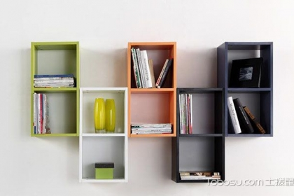 墙上书架怎么做,教你制作简易墙上书架