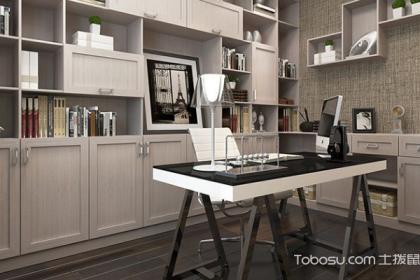 定制书房家具的优势,定制家具品牌推荐
