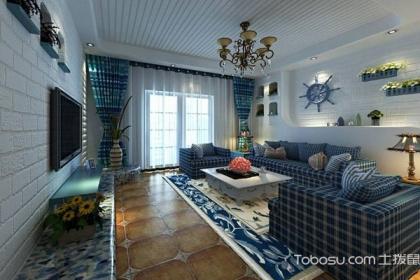 家装设计:清新舒适的地中海清新风格