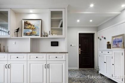 122平簡美混搭風格,帶您欣賞三室兩廳裝修案例