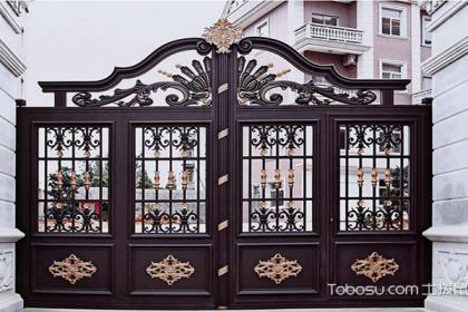 几组庭院大门图片,带你更好选择最适合自己的庭院大门