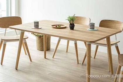 实木餐桌选购攻略,不同材质的价格和其特点