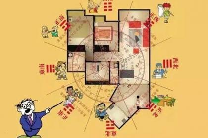 土撥鼠網教您怎么開啟屋宅的財位