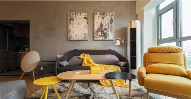 簡單設計的70㎡二居,臥室這樣隔斷,空間像大了一倍!
