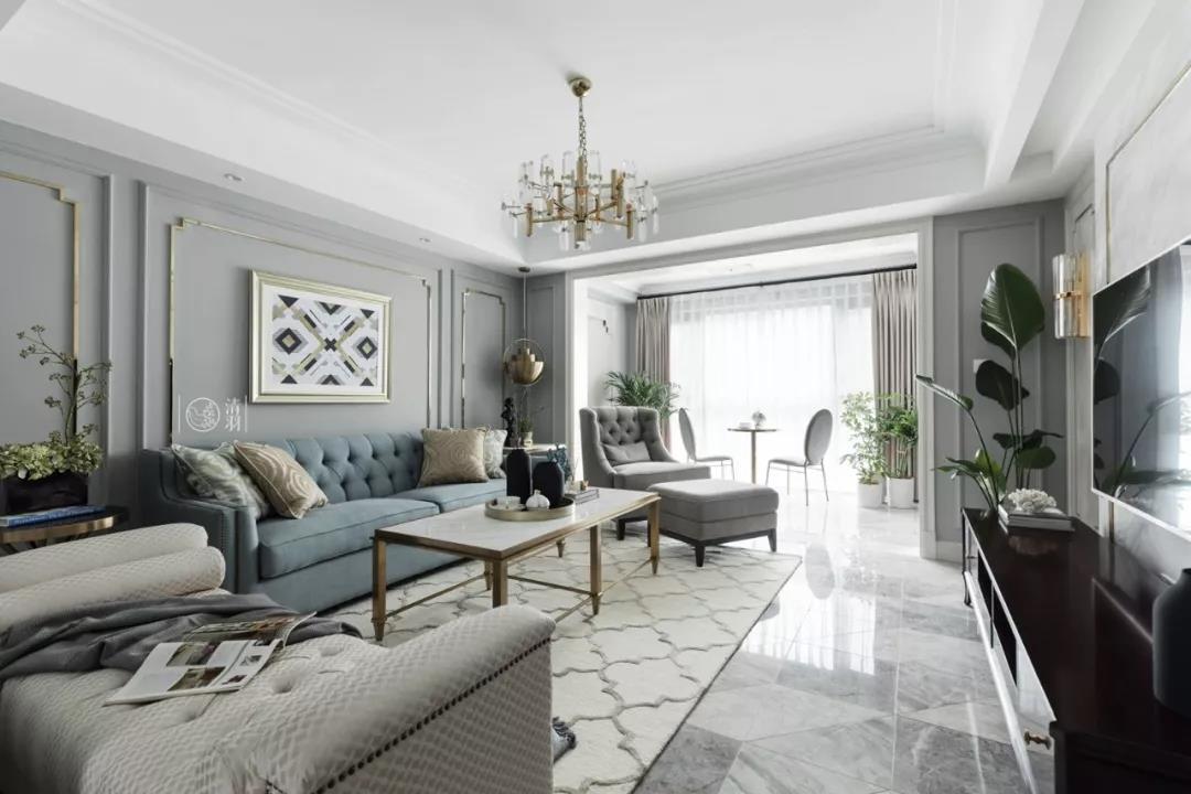 155㎡挤出四室两厅双阳台,还有步入式衣帽间、浴缸,多功能设计都在她家了!