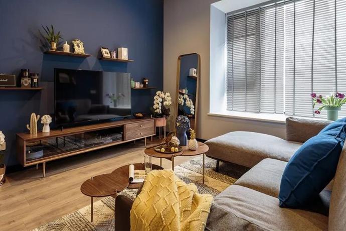 60㎡小家经设计师一改,挤出2室2厅,变得宽敞又明亮!